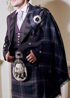 Formal Kilt outfit with fly plaid.