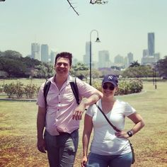 When travelling, our guides always like checking out other city's walking tours. Here's Walks 101 owner John with the lovely @curiousinbrisbane exploring their beautiful city. Walking Tour, Walks, Exploring, Melbourne, Travelling, Tours, City, Beautiful, Cities