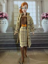 Handmade, OOAK 2pc Outfit For Silkstone Barbie By GINA **AUTUMN PLAID**