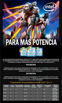 desyman 7ª generación de procesadores Intel® Core™ i5 e i7