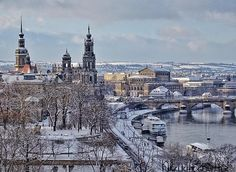 Winter in Dresden 2015