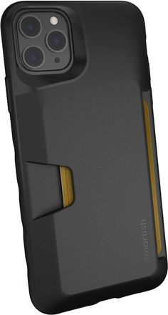 Smartish iPhone 11 Pro Max Wallet Case - Wallet Slayer Vol. Leather Cell Phone Cases, Diy Phone Case, Iphone Phone Cases, Iphone 11, Smartphone Deals, Black Tie Affair, Credit Cards, Cell Phone Accessories, Card Holder
