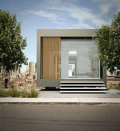 Schuster House by WeAreAllConnect #entrance