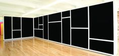 Sol LeWitt - Wall Drawing # 792 (@ The Massachusetts Museum of Contemporary Art, ?) [1995]
