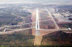 Korat Royal Thai Air Force Base overhead view