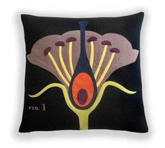 Hard to choose between the Botany and the Geology pillows...