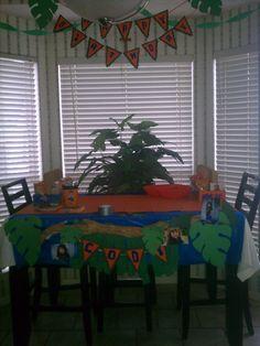 Birthday party Go Diego Go