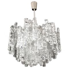 Kalmar Murano Glass Chandelier    From a unique collection of antique and modern chandeliers and pendants at https://www.1stdibs.com/furniture/lighting/chandeliers-pendant-lights/ ENTRYWAY