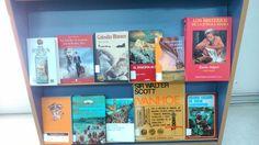Mes de abril, mes de la aventura en la Biblioteca del Fardes Enigma, Magazine Rack, Storage, Cover, Books, Home Decor, Art, Underwater, Speech Balloon