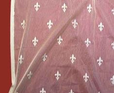Fluer is our pattern designed from the emblem from France. it is available for $12.95 per yard.