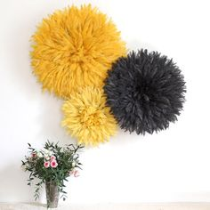 Juju Hat Feather Headdress Soft Yellow 35 cm/1.5 by ZLAMM