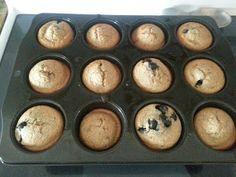 High Heeled Mama: Banana Blueberry Muffins (No Flour, No Sugar)