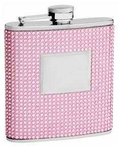 Personalized 6oz Pink Beaded Hip Flask, Free Engraving! Top Shelf Flasks http://www.amazon.com/dp/B008EKRWWC/ref=cm_sw_r_pi_dp_8cdivb185YV9Y