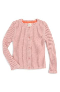 Mini Boden 'Everyday' Rib Knit Cardigan (Toddler Girls, Little Girls & Big Girls) available at #Nordstrom