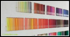 Felissimo's 500 Colored Pencil Set Alright, this isn't art, per se, but all of those colored pencils lined up so neatly really appeals.