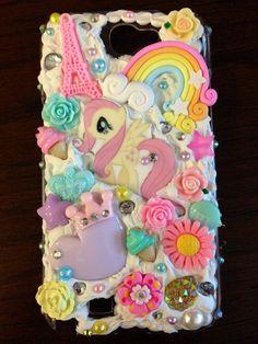 Pink+&+Pastel+Fluttershy+Pony+DecoDen+Bling+by+KreativeKoala,+$30.00
