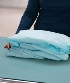 Yes, folding a fitted sheet may seem like one of life's great mysteries, but the quick method in this video will have you creating a neat and hassle-free fold in no time. Say good-bye to those crinkly, balled-up messes.