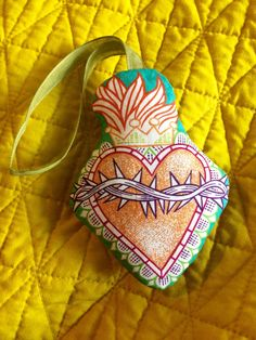 A personal favorite from my Etsy shop https://www.etsy.com/listing/501889189/organic-lavender-scared-heart-sachet