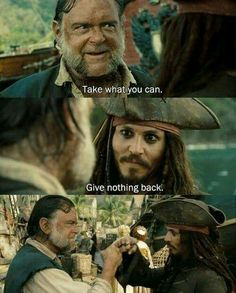 Find images and videos about johnny depp, pirate and jack sparrow on We Heart It - the app to get lost in what you love. Captain Jack Sparrow, Jack Sparrow Funny, Jack Sparrow Quotes, Pirate Quotes, Johnny Depp Quotes, John Depp, Citations Film, On Stranger Tides, The Lone Ranger