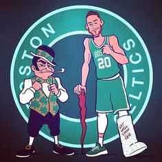 regram Seeing Boston and the entire NBA. Celtics Basketball, Sports Basketball, Hockey, Basketball Shoes, Celtic Pride, Celtic Fc, Nba Sports, Sports Art, Funny Nba Memes