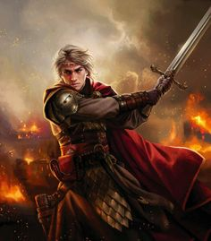 """The World of Ice and Fire - Aegon the Conqueror in battle. """" The Aegon who is known to history as Aegon the Conqueror and Aegon the Dragon was born on Dragonstone in 27 BC. He was the only son, and..."""