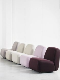 Aperi by Lammhults, a soft welcome to the modern office