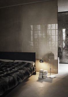 This would be the ideal bedroom for sleeping! Simple and no distractions.