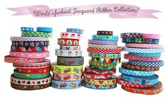 Huge range of jacquard ribbons