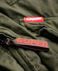 Superdry Rookie Military Parka Coat