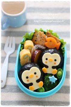 ぺんぎんおにぎりのお弁当 - キャラ弁連載:初めてでも楽しく作れる♪3Dキャラ弁当 レシピブログ - 料理ブログのレシピ満載!