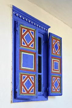 Traditional Windows with shutters Shutter Designs, Traditional Windows, Exterior Trim, Window Shutters, Unique Doors, Farmhouse Interior, Windows And Doors, Metal Working, Facade