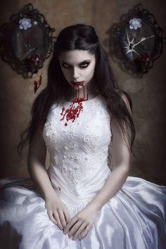 Diana Festa Cortés (blackwings). The Bride. As a bride, PAM, you were never more grotesque