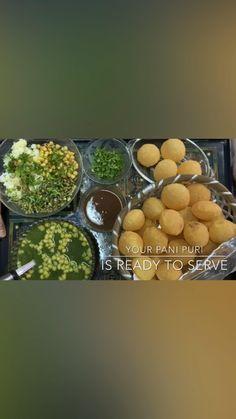 Tasty Vegetarian Recipes, Spicy Recipes, Fun Baking Recipes, Cooking Recipes, Chaat Recipe, Pani Puri Recipe, Indian Dessert Recipes, Chutney Recipes, Street Food