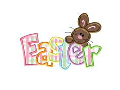 Easter Applique  3 sizes  Instant Download  by AppliqueDownload, $3.99