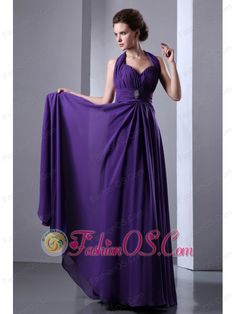 On Sale Purple Empire Halter Top Prom Dress Backless Chiffon Beading Halter Top Prom Dresses, Prom Dress 2013, Plus Size Prom Dresses, Prom Dresses Online, Prom Party Dresses, Pageant Dresses, Homecoming Dresses, Prom Gowns, Evening Dresses