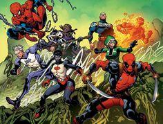 Uncanny Avengers #1 by Ryan Stegman.