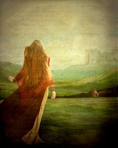 Guinevere returning home after her kidnapping