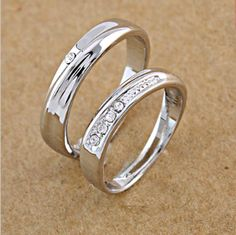 Couple Rings Set. Starting at $1 on Tophatter.com!