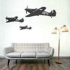 Avions dans le salon pour les amoureux de l'aviation