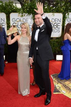 Tom Ford!  and Naomi Watts wearing it....I saw the back of this dress I think I like it!!Golden Globes 2014: Red-Carpet Arrivals