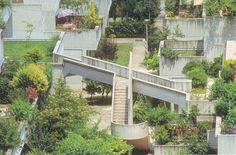 Villaggio Matteotti, 1968-74, Giancarlo de Carlo