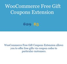 WooCommerce Free Gift Coupons Extension Dwonlaod WooBeast