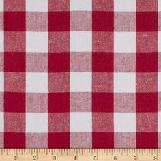 From Robert Kaufman Fabrics, this light weight woven yarn dyed gingham fabric is extremely versatile. It can be used to create stylish summer dresses, children's apparel and blouses. It can also be used to make tablecloths, curtains and even handkerchiefs. Checks measure 1''.