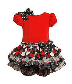 Bonnie Baby Infant Knit to Tiered Dress .....Livs Christmas dress?