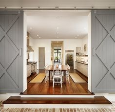 SallyL: Dillon Kyle Architecture - Gray, sliding barn doors