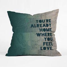 Go Home Pillow Cover