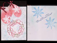 Hand Cut mittens, CAS card, quote/sentiment stamps from Quietfire Design,  - http://yogiemp.blogspot.ca/2014/11/mc-nov14-mittens-let-it-snow.html
