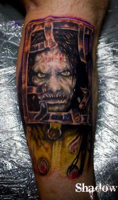 Horror tattoos on pinterest freddy krueger horror for Friday the 13th tattoos michigan