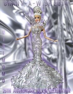 Barbie dolls houses, anything from traditional wood-based houses to really Barbie Dreamhouses. Barbie Gowns, Barbie Dress, Barbie Clothes, Barbie Mode, Barbie And Ken, Barbie Dolls 2014, Barbies Dolls, Fashion Royalty Dolls, Fashion Dolls