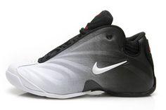Flightposite Shoes White/Black/Varsity Red Mens